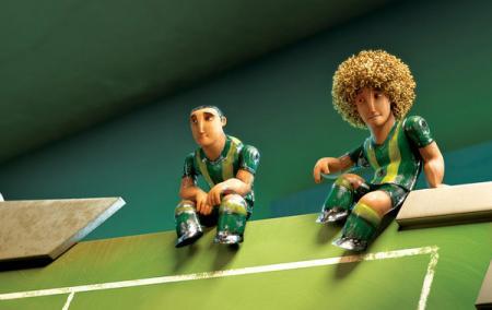 Fussball - Großes Spiel mit kleinen Helden